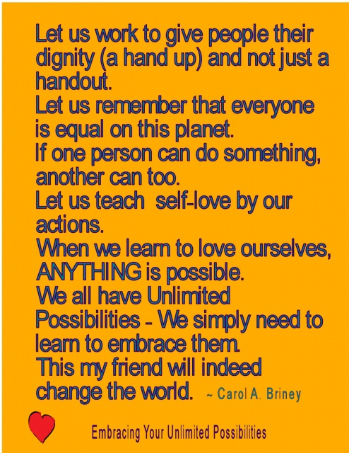 Let Us Teach Self Love By Our Actions. When We Learn To Love Ourselves,  ANYTHING Is Possible. We All Have Unlimited Possibilities U2013 We Simply Need  To Learn ...